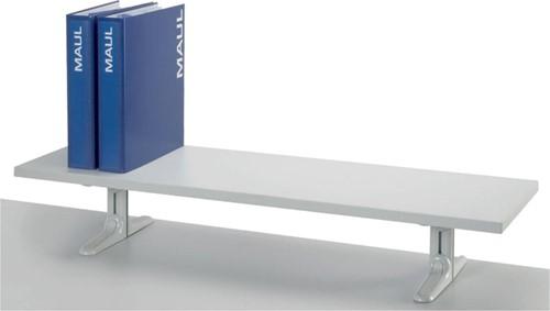 MAULboard op voet, melamine plateau, 120 x 30 cm