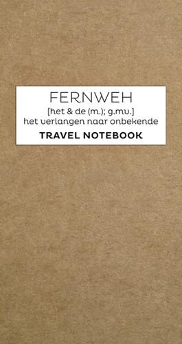 TRAVEL NOTEBOOK FERNWEH NAVULSET 1 Stuk