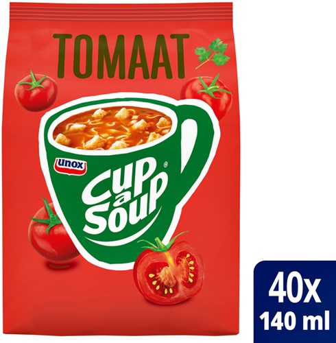 CUP A SOUP TBV DISPENSER TOMAAT 40 PORTIES 40