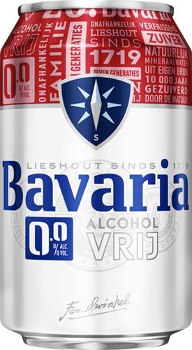 BIER BAVARIA 0.0 BLIKJE 0.33L 33 Centiliter