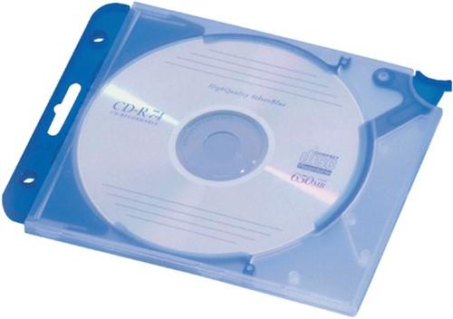 CD OPBERGMAP QUICKFLIP COMPLEET BLAUW 5 Stuk