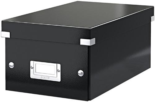 DVD-BOX LEITZ CLICK&STORE 190X135X320MM ZWART 1 Stuk