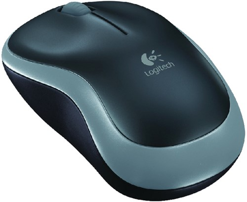 MUIS LOGITECH OPTICAL M185 NOTEBOOK DRL GRIJS 1 Stuk