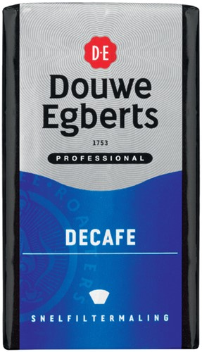 KOFFIE DOUWE EGBERTS DECAFE SNELFILTER 250GR 250 Gram
