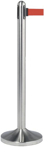 AFZETPAAL SECURIT RVS 100CM ROLBAND 210CM ROOD 1 Stuk