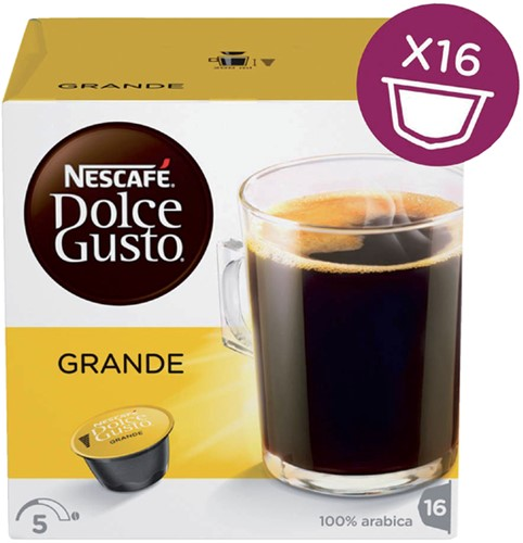 DOLCE GUSTO GRANDE 16 CUPS 16