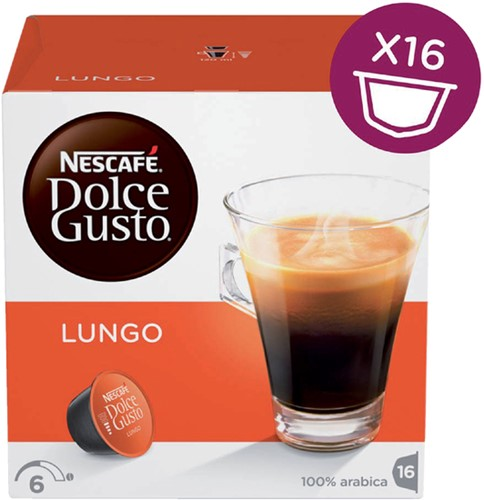 DOLCE GUSTO LUNGO 16 CUPS 16